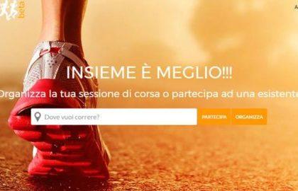 Online il primo portale italiano della corsa sociale